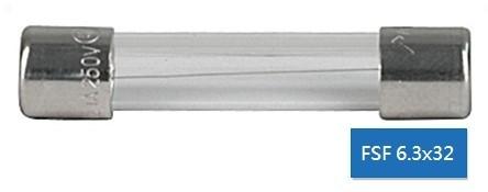 Miniature Fuse 6x32 玻璃管