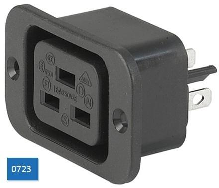 IEC Outlet J