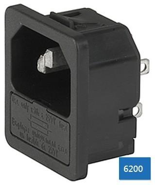 IEC插座+保險絲座