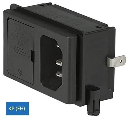 IEC插座+保險絲座(V-Lock)